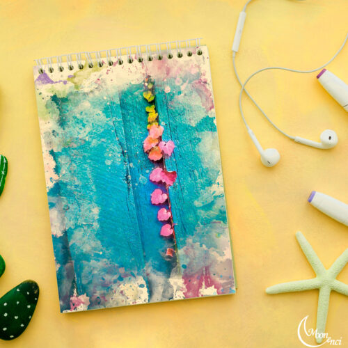 Colorful leaves Notebook