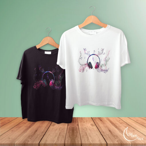 Music and deer clothing design