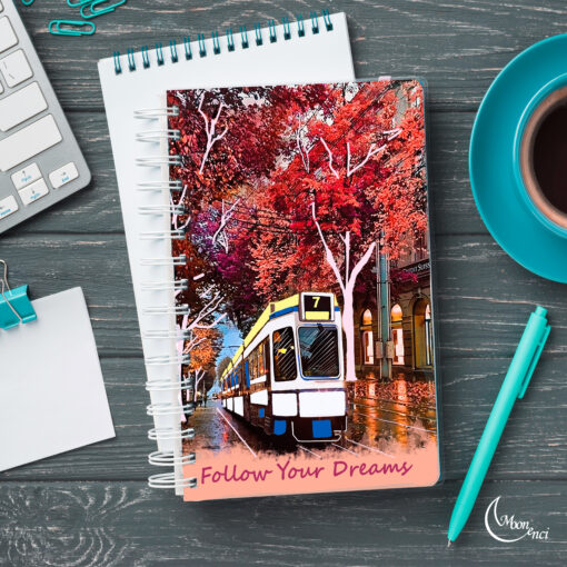 Train Notebook Cover Design